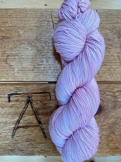 Fingering Yarn 2-Ply Sock Light Pink Tonal