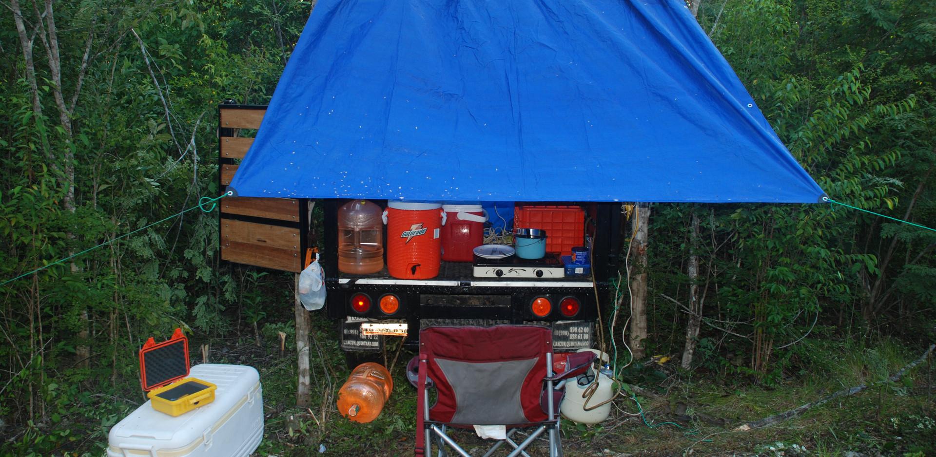 Sistema Ox Bel Ha, jungle camp