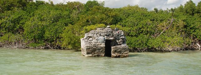 Sian Ka'an, Maya Temple