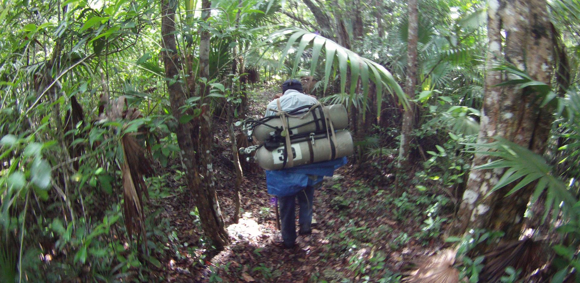 Sistema Ox Bel Ha, Cenote Doblado
