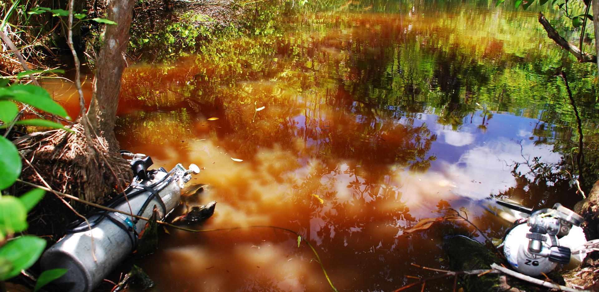 Sistema Ox Bel Ha, Cenote Coca Ha