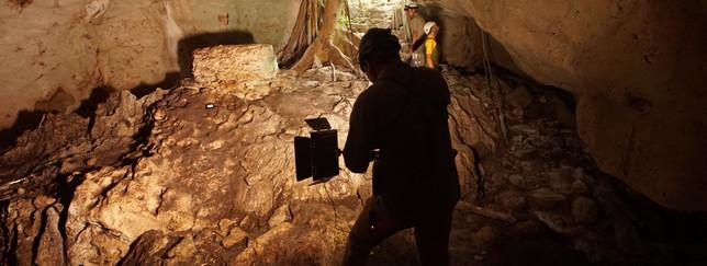 Maya Cave Shrine Project