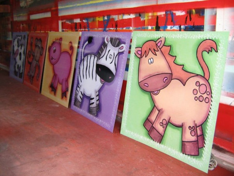 Large animal prints