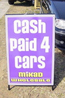 Cash Paid 4 Cars