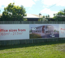 Banner for Real estate sales