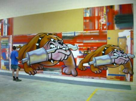 Digitally Printed Bulldogs