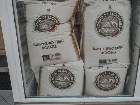 organic pizza flour
