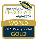 2019 Directly traded gold international chocolate awards