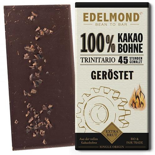 100%-Kakaobohnen Tafel, extra bitter, Bio