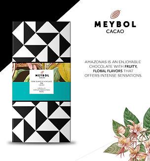 """amazonas Kakao """"Bean-to-Bar"""" Schokolade"""