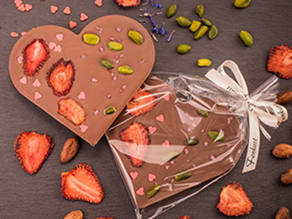 Schokoladen-Herz