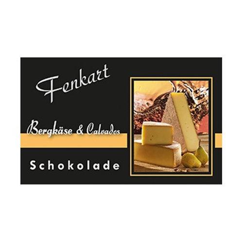 Bergkäse & Calvados Dunkelschokolade