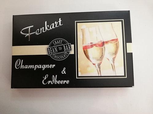 Champagner & Erdbeere Schokolade