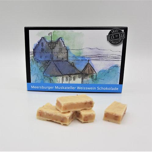 Meersburger Muskateller Weisswein Schokolade