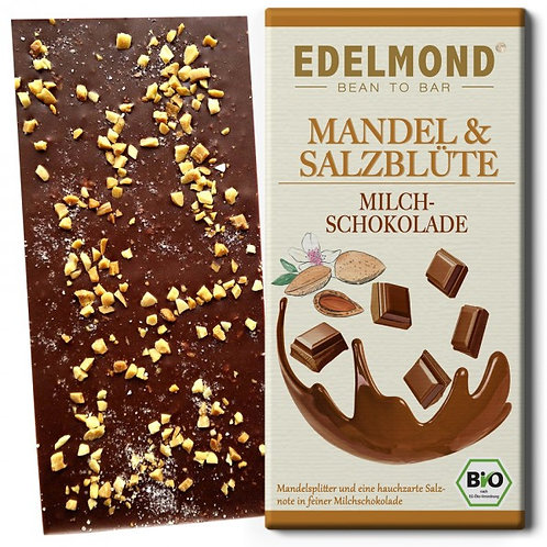 Mandel & Salzblüte Milchschokolade, Bio