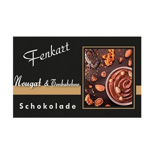Nougat & Tonkabohne Schokolade