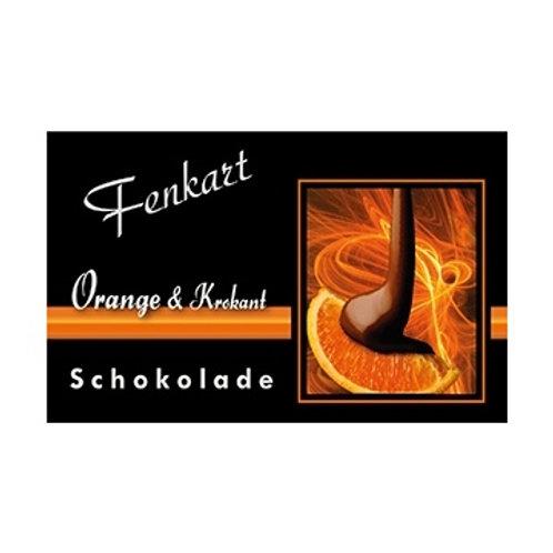 Orange & Krokant Schokolade