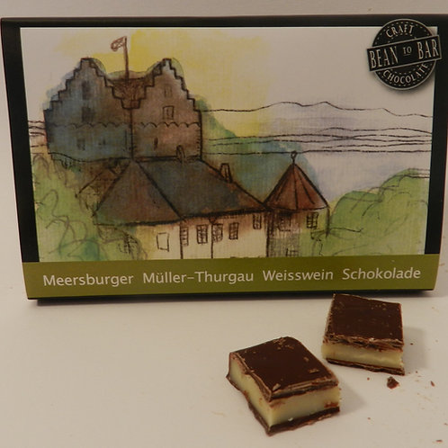 Meersburger Müller-Thurgau Weisswein Schokolade