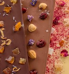 Belegte Fenkart Schokoladen