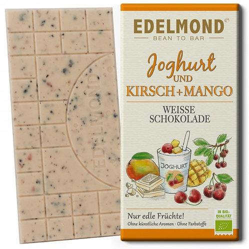 Joghurt, Kirsche & Mango, Weiße Schokolade, Bio