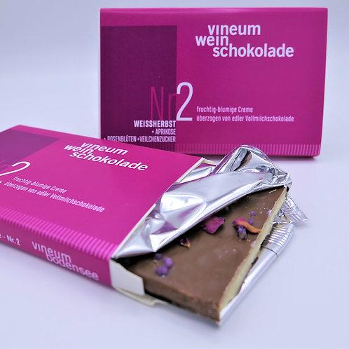 vineum Nr2 weinschokolade Weißherbst