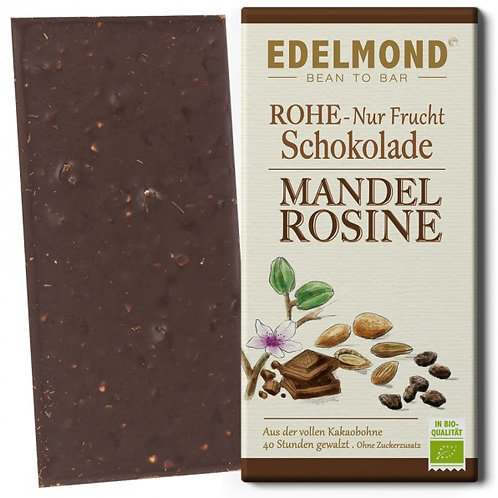 """""""Nur Frucht"""" Mandel-Rosinen Schokolade, Bio"""