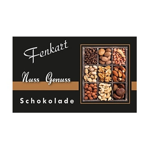 Nussgenuss Schokolade