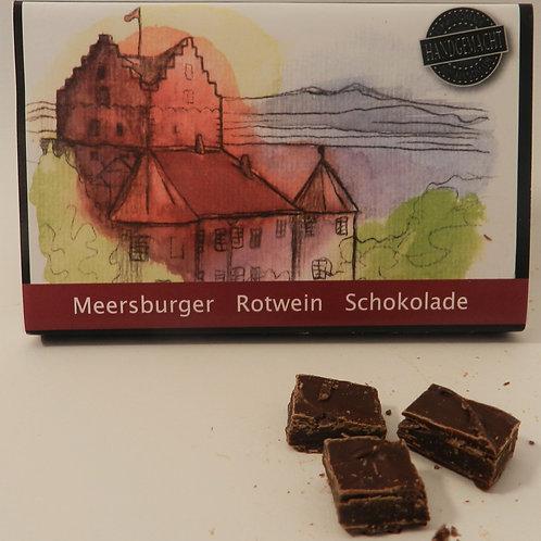 Meersburger Spätburgunder Rotwein Schokolade