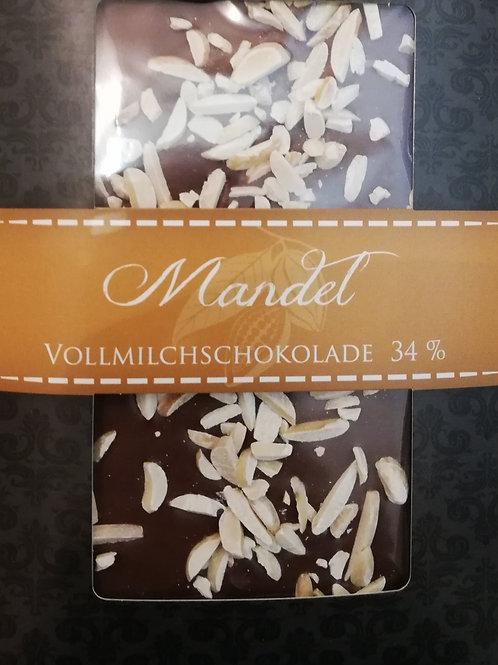 Mittelmeer-Mandel & Nougat Schokolade