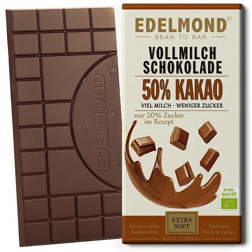 50% Milchschokolade, Bio