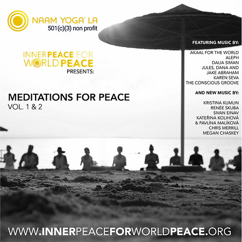 Meditations for Peace Vol 1 & 2 by Various Artists