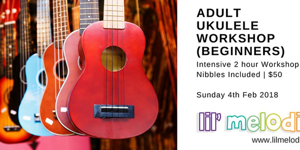 Adult Ukulele Workshop - Beginners