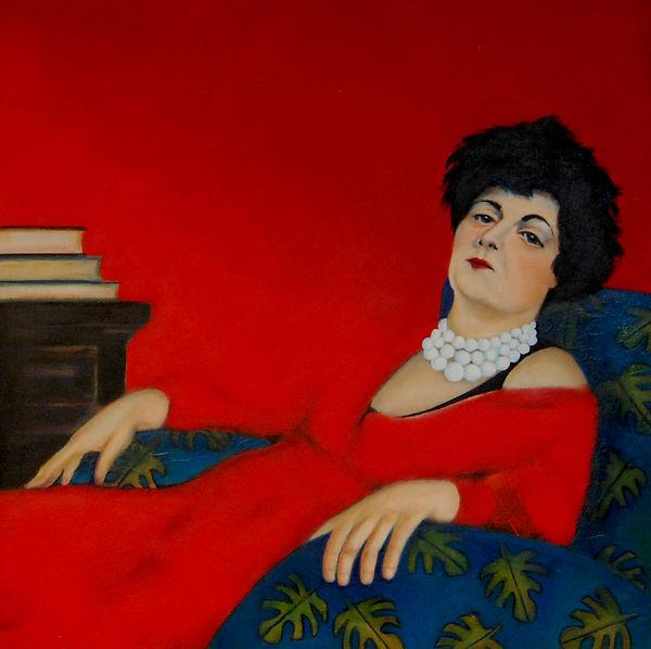 Madame Cassatt Rouge sur Rouge .jpg