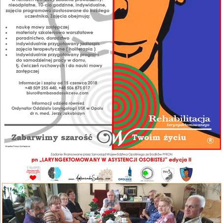 Laryngektomowany w asystencji osobistej edycja 2