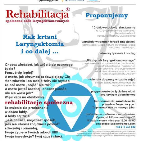 Rehabilitacja społeczna osób laryngektomowanych