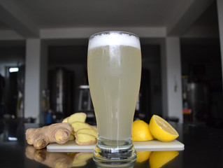 Kitchen Experiment: Homemade Ginger Ale!
