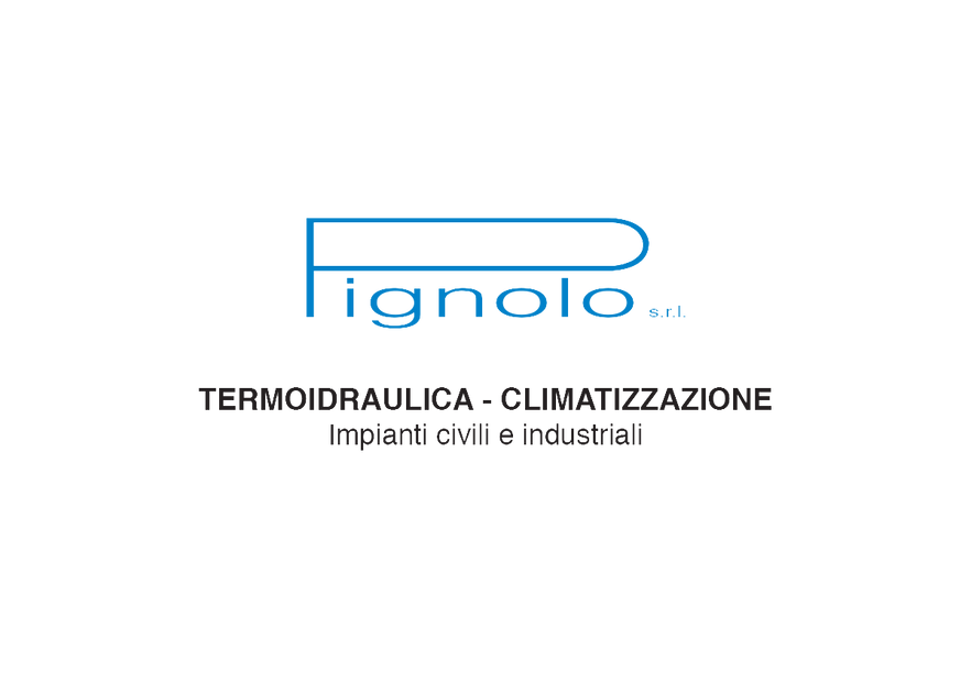 Pignolosrl idraulico a Vicenza