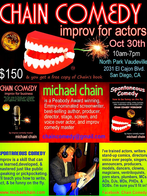 Chain Comedy - improv workshop for actors