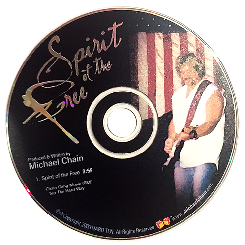 Spirit of the Free - Single CD
