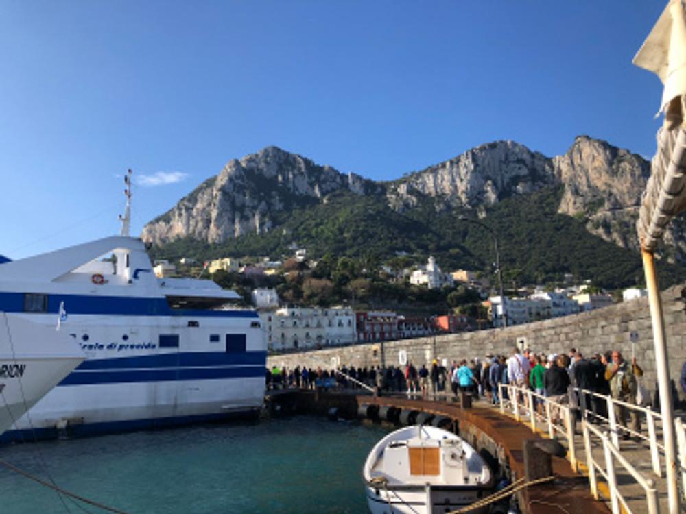 Capri, Italy - Mediterranean Cruise - tennistravelsite.com