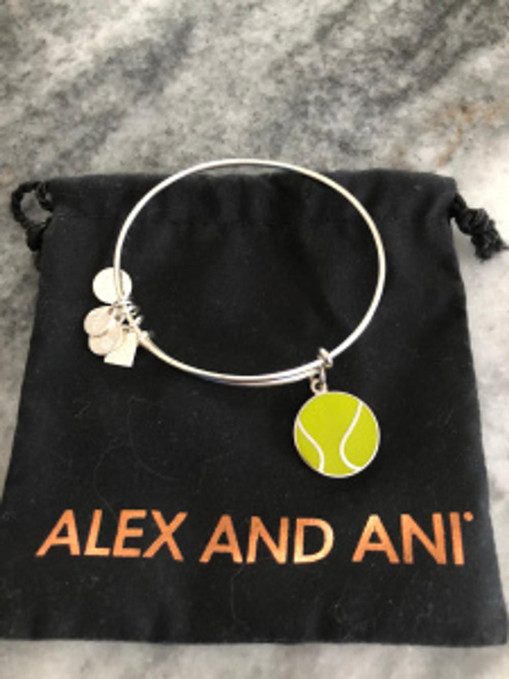 Alex and Ani tennis expandable bracelet