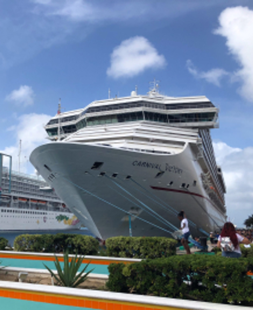 Carnival Victory - Bahamas tennis cruise - tennistravelsite.com
