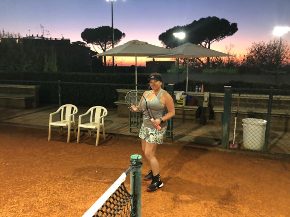 Rome Cavalieri, Rome, Italy - tennistravelsite.com