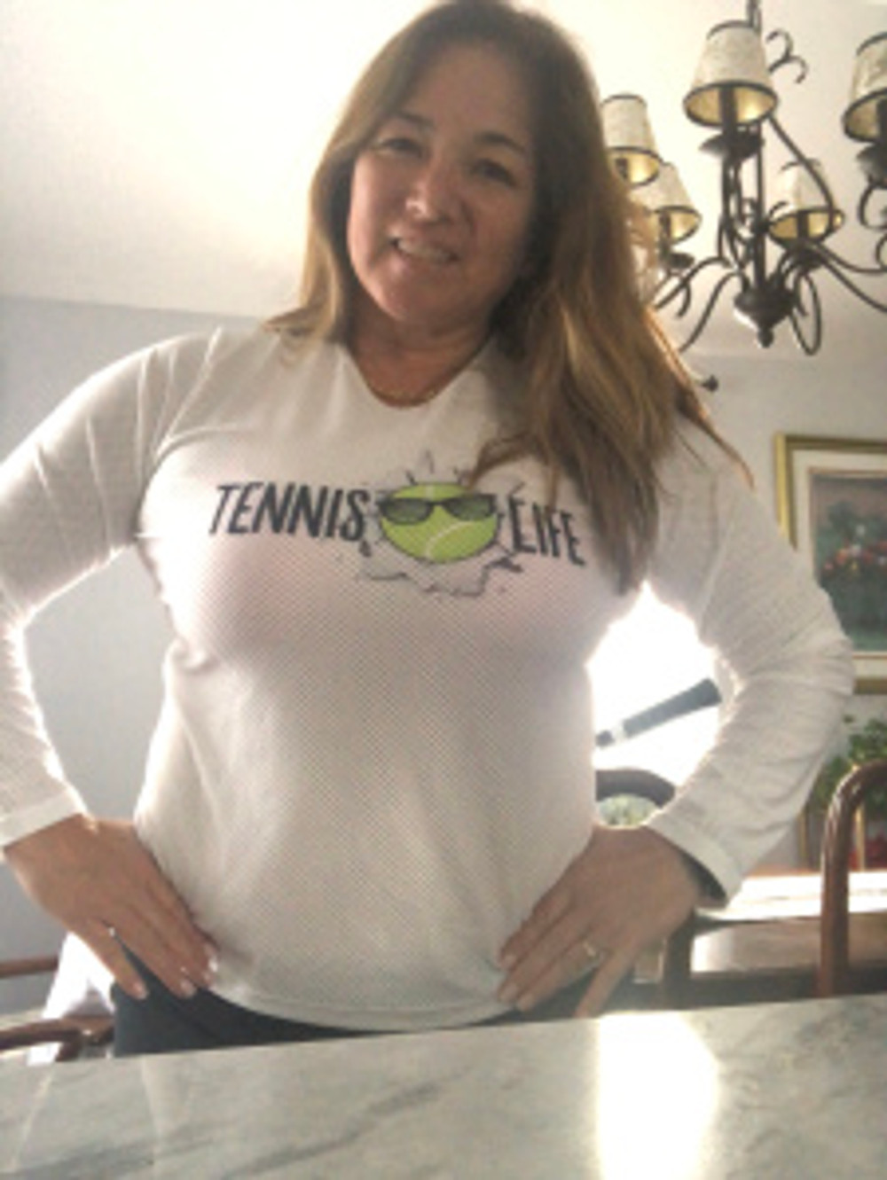 Tennis life shirt by Lacoa Sports