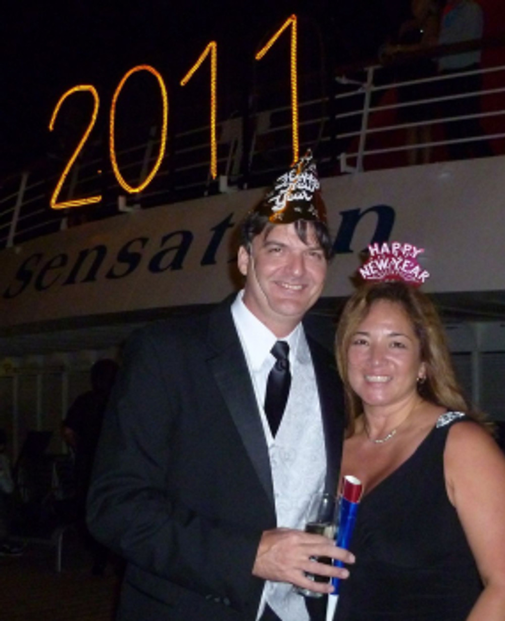 2011 - our first New Years cruise - tennistravelsite.com