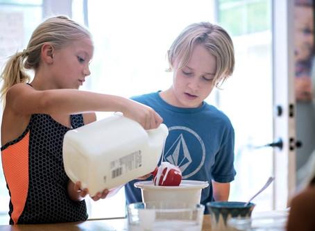 How to Make Flubber - Boulder Children's Photographer
