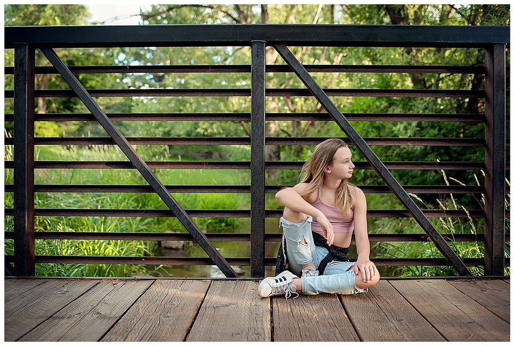 Tween bridge photoshoot