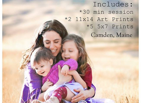 Mini Family Photography Sessions – then Boulder!