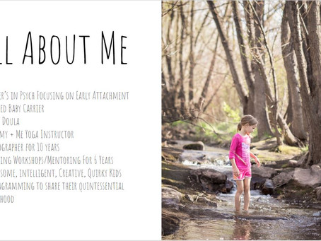Family Mini Session Webinar Next week! - For Photographers