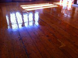 GreenCa polish floor service